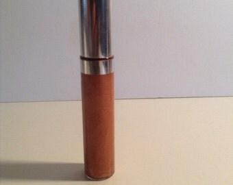 Natural Organic Coconut Oil Lip Gloss /Balm Glistening Bronze 7.5 mls
