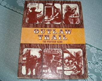 Outlaw Trail the Western Game from Dynamic Design 1972