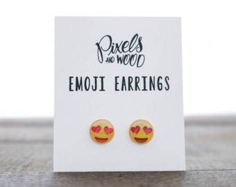Emoji Earrings 10mm