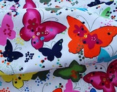 C184 - 148cmx100cm Cotton Woven Fabric - butterfly and star