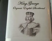 King George Organic Original English Shortbread Cookie Gluten Free Option