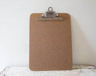 Long Wooden Vintage Wood Clipboard Service Clipboard