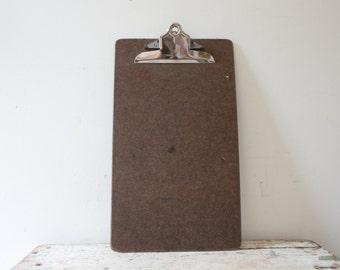 Long Wooden Vintage Wood Clipboard Artwork Clipboard Artwork Hanger