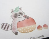 10 envelope / PM-Raccoon
