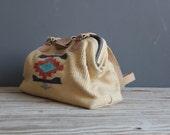 Woven Aztec Pattern Doctor Bag