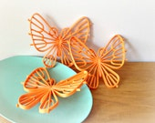 Vintage Butterfly Wall Hanging Burwood Butterflies