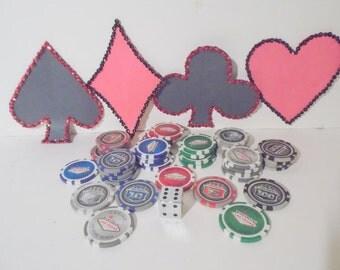 Lot of Las Vegas Gambling Chips