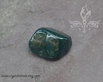 Bloodstone Tumbled Gemstone Crystal - 1 piece Medium Size (BLS0035), Blockage, Trauma, Grief, Abundance, Base Chakra