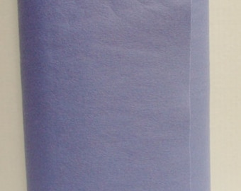 Periwinkle 35% Merino Wool Felt Blend Fabric By the Yard from Woolhearts