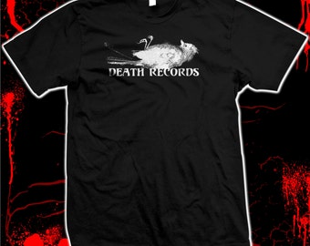 Death Records - Phantom Of The Paradise - Brian Depalma - Hand screened, Pre-shrunk 100% cotton t-shirt