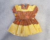 "Terri Lee vintage Sunflower Dress Rare print NM 16"" doll"