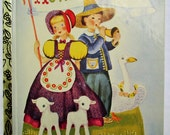 Mother Goose, A Little Golden Book, 50th Anniversary 1990s Printing...Mint Condition
