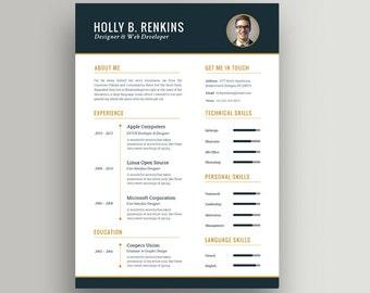 resume templates word clean good resume mac or pc best resume template - Good Resume Templates For Word
