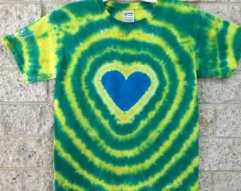 Tie Dye Heart, Child Medium