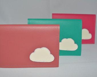 Cloud Vinyl Billfold Wallet