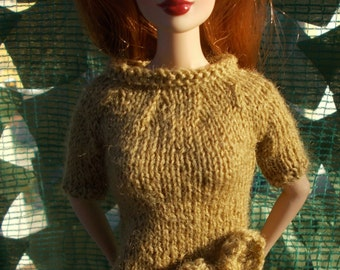 Handmade dress for fashion royalty, but available for any kind of dolls (momoko, barbie, pullip, blythe, bjd...)