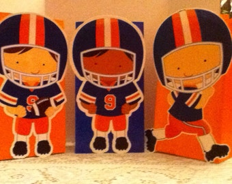 Cute Football Players Goody Bags
