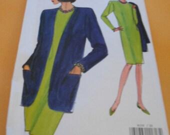 Vogue 8159, Womens Dress, Jacket,  Size: 20-22-24