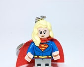 128GB Supergirl USB Flash Drive with Key Chain