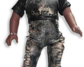 """18"""" Doll Clothes snakeskin pants Jumpsuit w/ invisible zipper closure"""