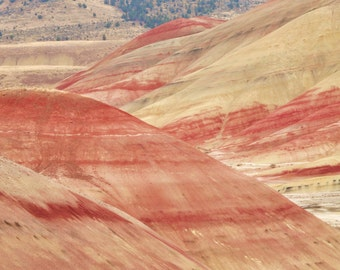 The Painted Hills in central Oregon are a treasure all should see. Here is a little glance.