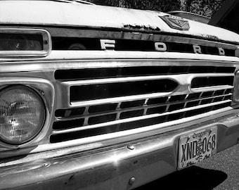 Ford Truck -  11 X 14 Print