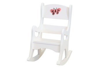 Child's Maple Rocking Chair, Rocker