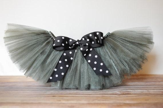 Silver tutu 'Gracie' glitter tutu Newborn tutu baby girls tutu skirt photo prop birthday tutu 3 months 6 months 9 months 12 months 18 months