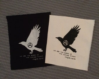 Anarchy patch - We are the birds of the coming storm.