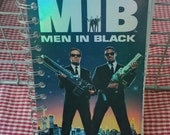 Men in Black MIB notebook from VHS box