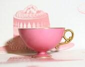 Gorgeous Marie Antoinette Style Vintage Teacup