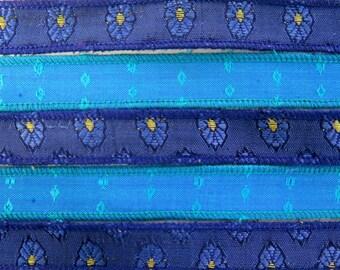 Blue Bracelet Ribbon Mix, W480
