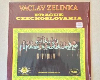 Vintage Polka Album Vaclav Zelinka from Prague Czechoslovakia Recorded in Czechoslovakia  Ray Records RR1004