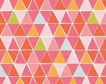 Juicy CANVAS - Mosaic - Organic Cotton - Monaluna Fabrics (JUC-02-BLT) - 1/2 Yard