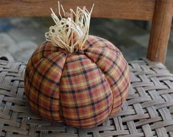 Homespun Fall pumpkin