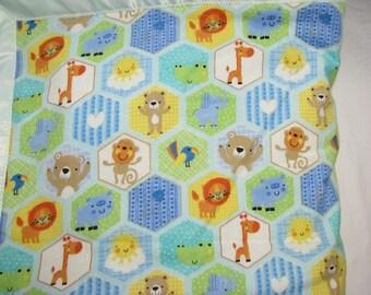 Satin Baby Blanket, Minky Blanket, Security Blanket, satin trim blanket, toddler blanket, girls blanket, boys blanket, baby shower gift