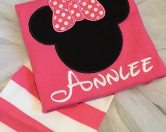 Disney pajamas top and shorts sets summer vacation ideas - applique mouse on red short sleeved PJs baby toddler kid snug fit striped jammies