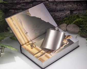 Hollow Book Safe and Hip Flask - The Star Wars Trilogy (LEATHER BOUND)
