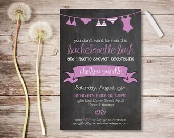 Printable Bachelorette Invitation