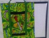 Teenage Mutant Ninja Turtles Dry Erase Board, TMNT Toy for Kids Education, Educational Toy, Preschool Learning, Kindergarten, Montessori Toy
