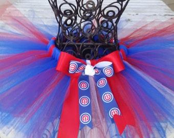 Chicago Cubs Tutu - Sports Theme Tutu - Baby Girl - Girls - Adult Tutu