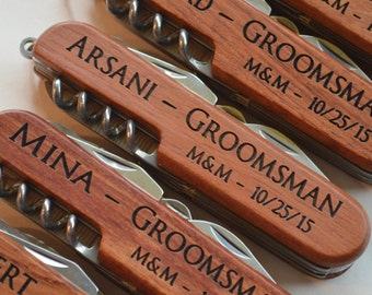 Personalized Knife, Personalized Groomsman Gift, Engraved Knife, Multi Tool, Multitool, Groomsmen Gifts, Groomsmen Gift Knives, Groomsmen