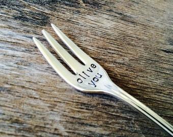 OLIVE YOU - Upcycled OLIVE fork