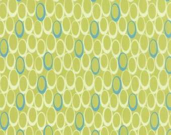 For You by Brigitte Heitland for Zen Chic - Mod - Apple - 1/2 Yard Cotton Quilt Fabric 516