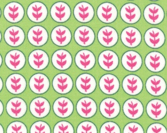 1/2 Yard - Summersville Spring - Lime Juice by Lucie Summers for Moda Fabrics