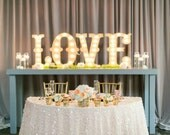 """4pc 24"""" LOVE Wood Letter Marquee Block or Circus..........Wedding Photo Prop Pictures Party A B C D E F G H I J K L M N O P Q R S T U V W"""