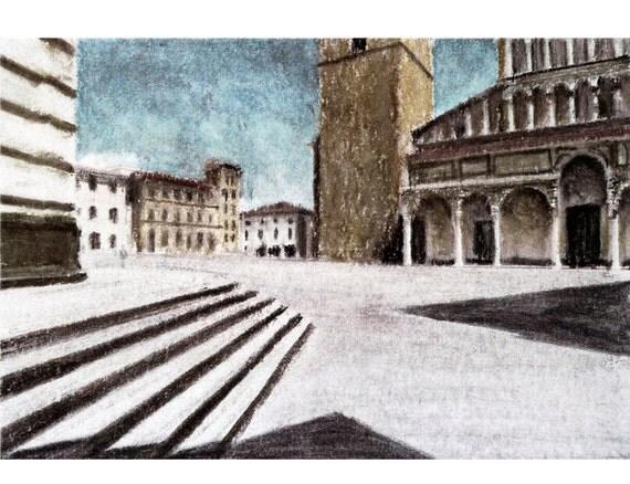 Piazza del Duomo, Pistoia — limited edition archival print
