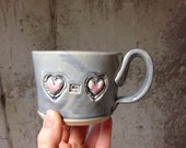 Heart To Heart, Custom Large Coffee Mug For LME