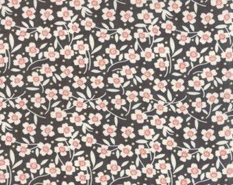 Farmhouse Polka Dot Daisy Midnight by Fig Tree Quilts - Moda - 1 Yard
