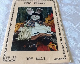 Halloween - BOO BUNNY - Sewing Pattern Only
